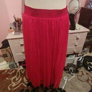 Torrid NWT Tullee skirt